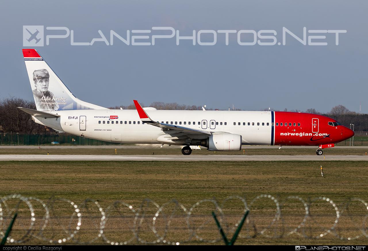 Boeing 737-800 - EI-FJI operated by Norwegian Air International #b737 #b737nextgen #b737ng #boeing #boeing737 #norwegian #norwegianair #norwegianairinternational