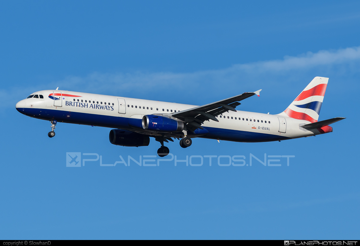 Airbus A321-231 - G-EUXL operated by British Airways #a320family #a321 #airbus #airbus321 #britishairways