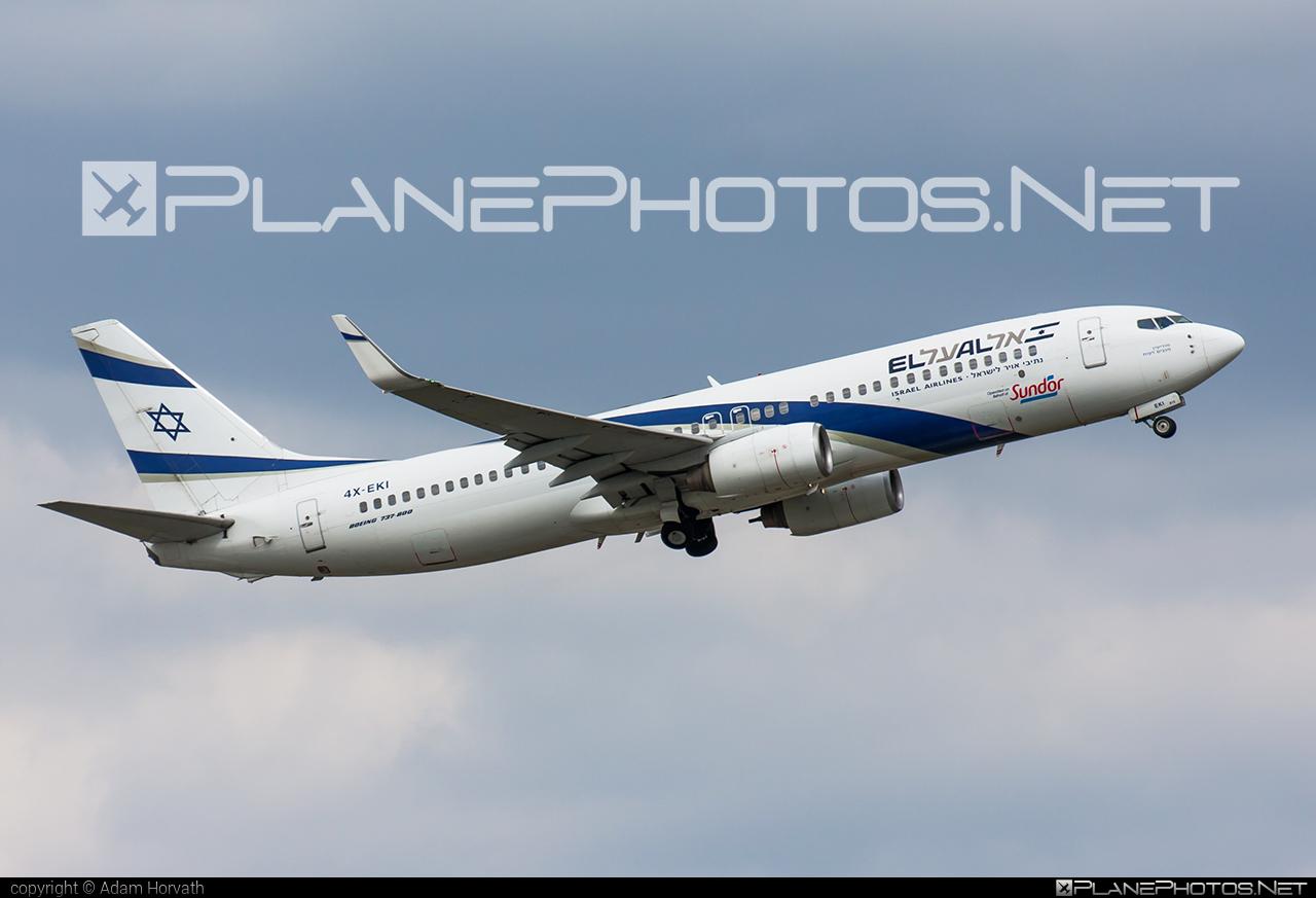 Boeing 737-800 - 4X-EKI operated by El Al Israel Airlines #b737 #b737nextgen #b737ng #boeing #boeing737 #elal #elalisraelairlines #israelairlines