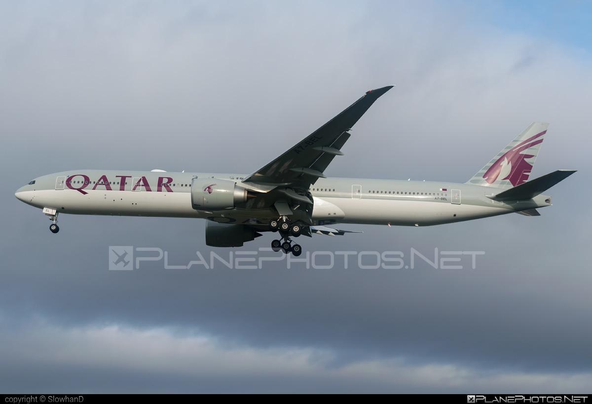 Boeing 777-300ER - A7-BEL operated by Qatar Airways #b777 #b777er #boeing #boeing777 #qatarairways #tripleseven