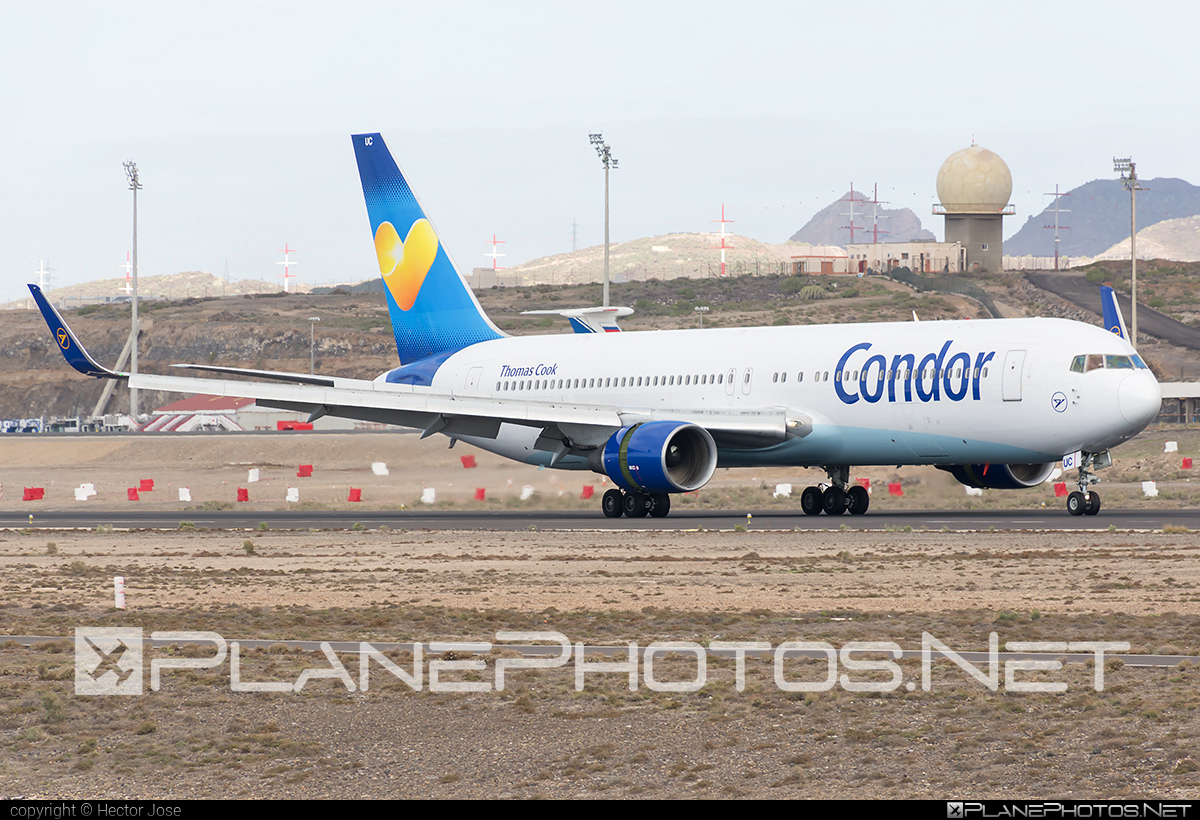 Boeing 767-300ER - D-ABUC operated by Condor #b767 #b767er #boeing #boeing767