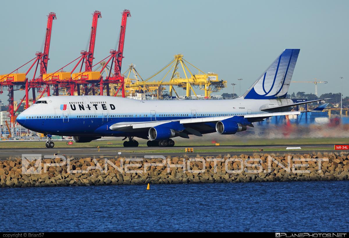 Boeing 747-400 - N122UA operated by United Airlines #b747 #boeing #boeing747 #jumbo #unitedairlines