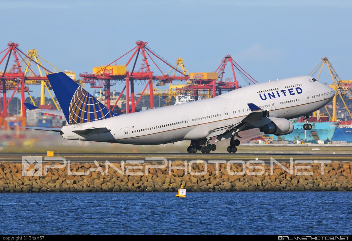 Boeing 747-400 - N197UA operated by United Airlines #b747 #boeing #boeing747 #jumbo #unitedairlines