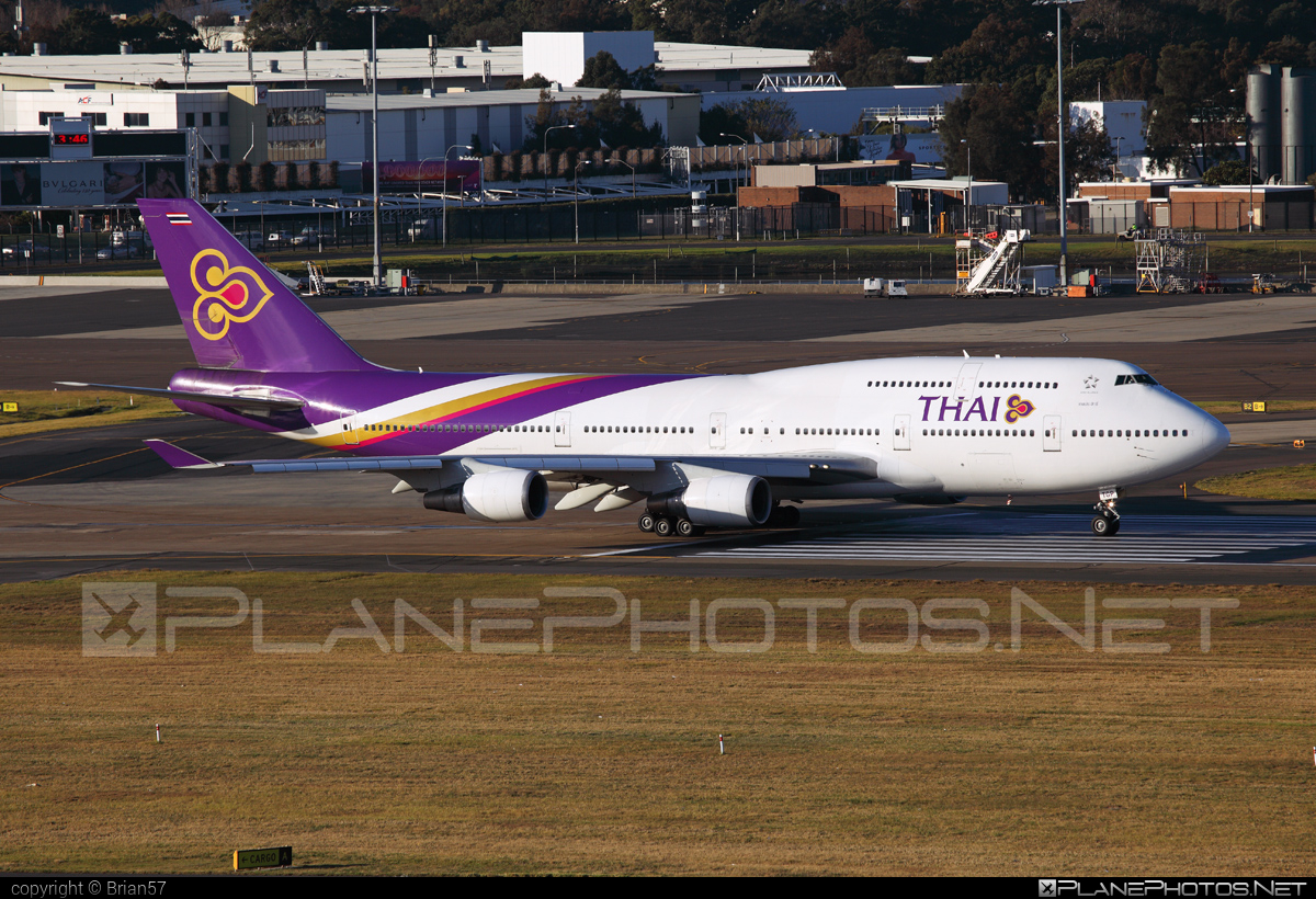 Boeing 747-400 - HS-TGP operated by Thai Airways #b747 #boeing #boeing747 #jumbo #thaiairways