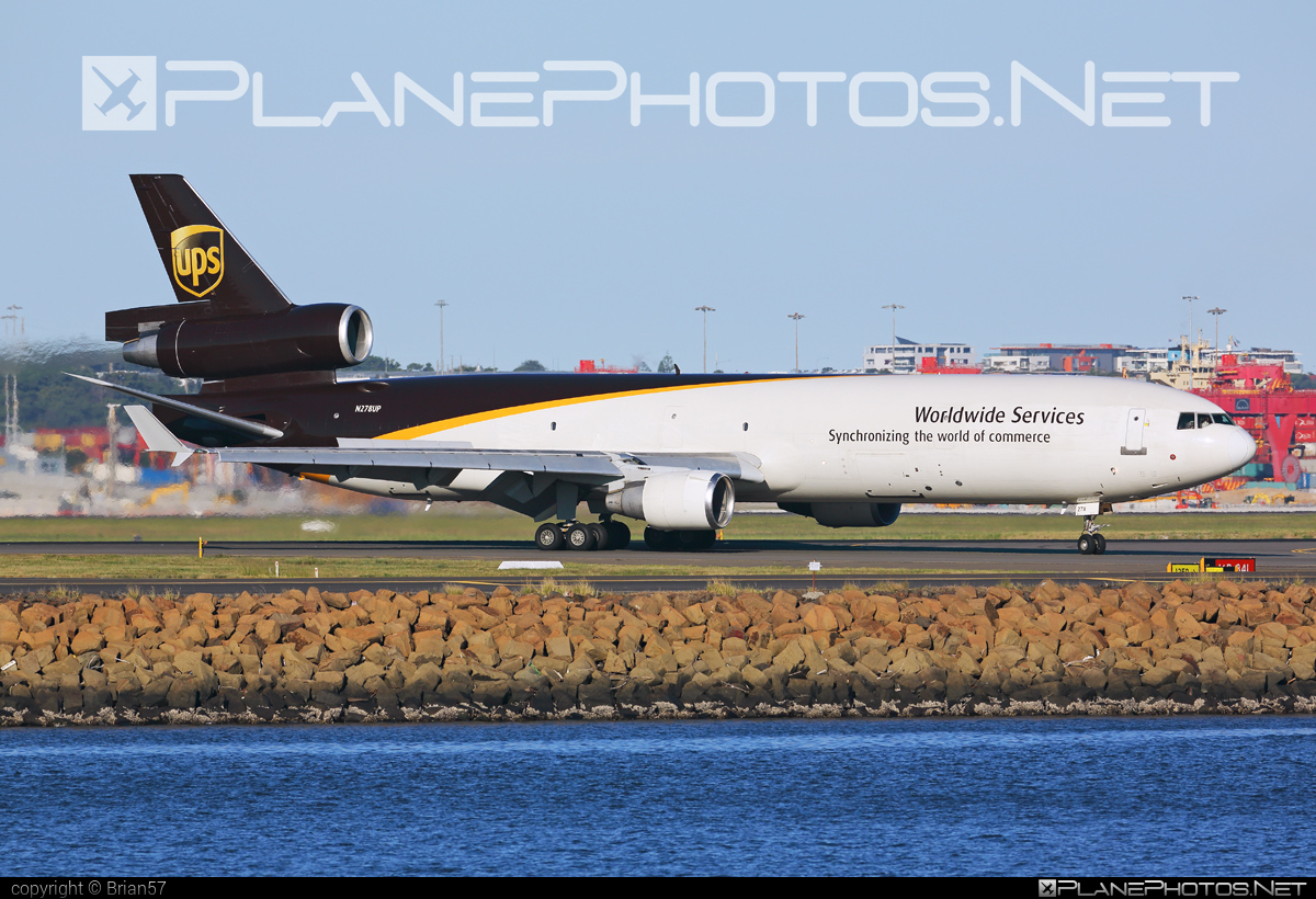 McDonnell Douglas MD-11F - N278UP operated by United Parcel Service (UPS) #mcdonnelldouglas #mcdonnelldouglas11 #mcdonnelldouglas11f #mcdonnelldouglasmd11 #mcdonnelldouglasmd11f #md11 #md11f #ups #upsairlines