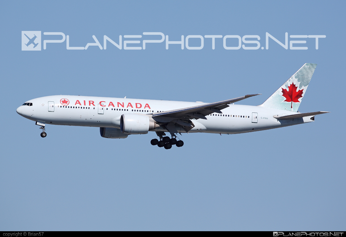 Boeing 777-200LR - C-FIUJ operated by Air Canada #aircanada #b777 #b777lr #boeing #boeing777 #tripleseven