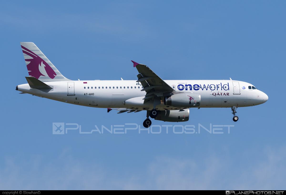 Airbus A320-232 - A7-AHO operated by Qatar Airways #a320 #a320family #airbus #airbus320 #oneworld #qatarairways