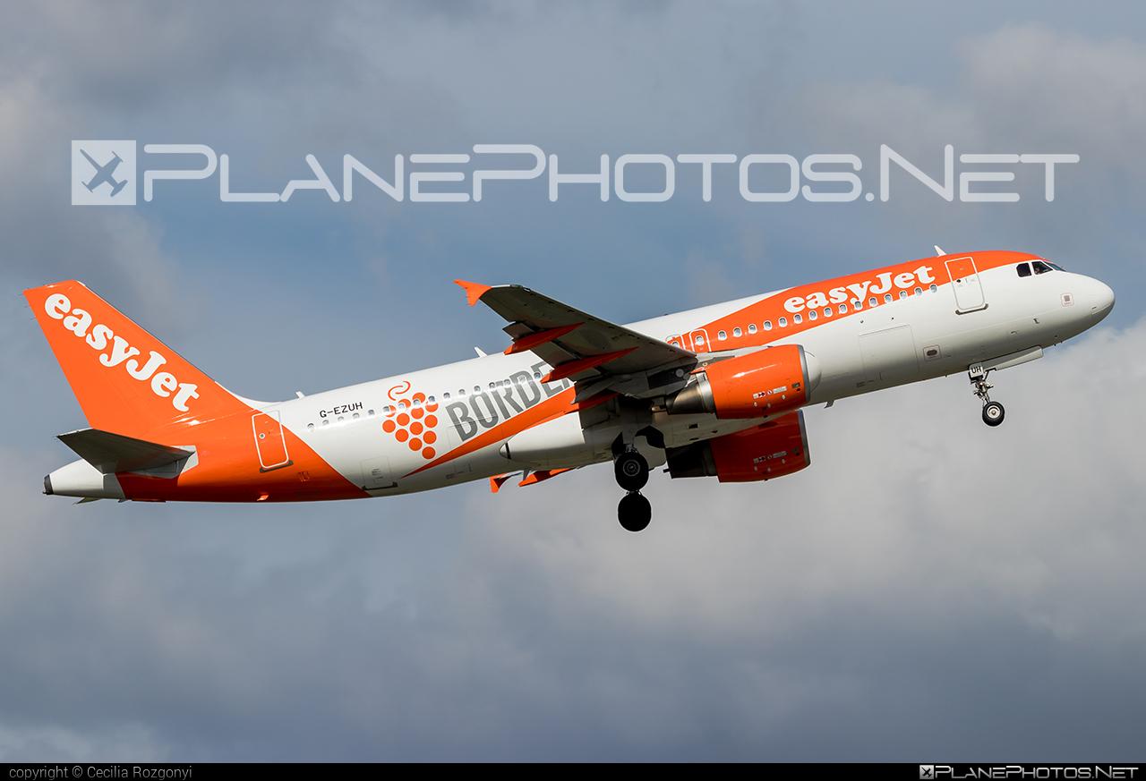 easyJet Airbus A320-214 - G-EZUH #a320 #a320family #airbus #airbus320 #easyjet