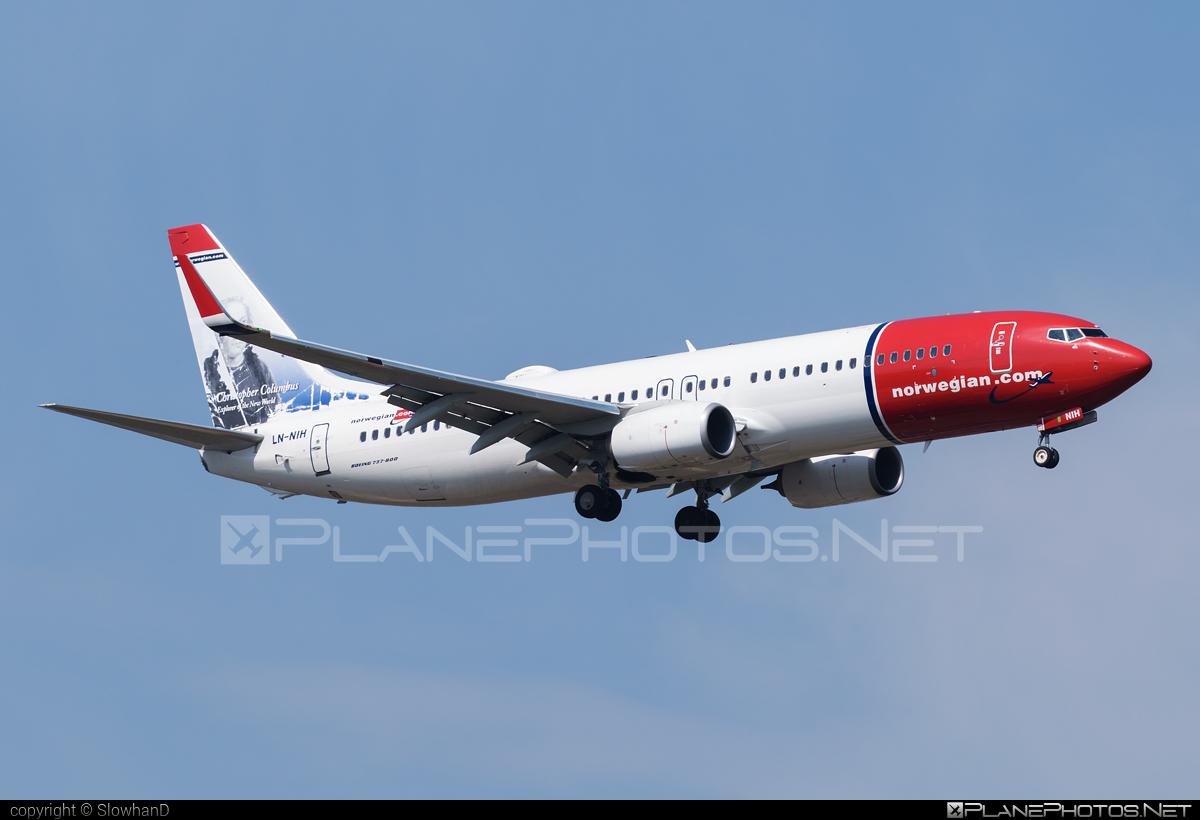 Norwegian Air Shuttle Boeing 737-800 - LN-NIH #b737 #b737nextgen #b737ng #boeing #boeing737 #norwegian #norwegianair #norwegianairshuttle