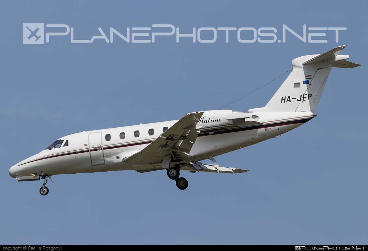 Private operator Cessna 650 Citation III - HA-JEP #cessna