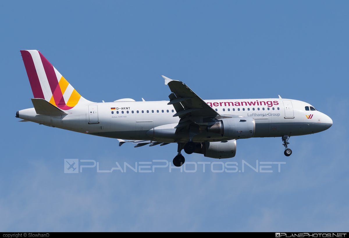 Germanwings Airbus A319-112 - D-AKNT #a319 #a320family #airbus #airbus319