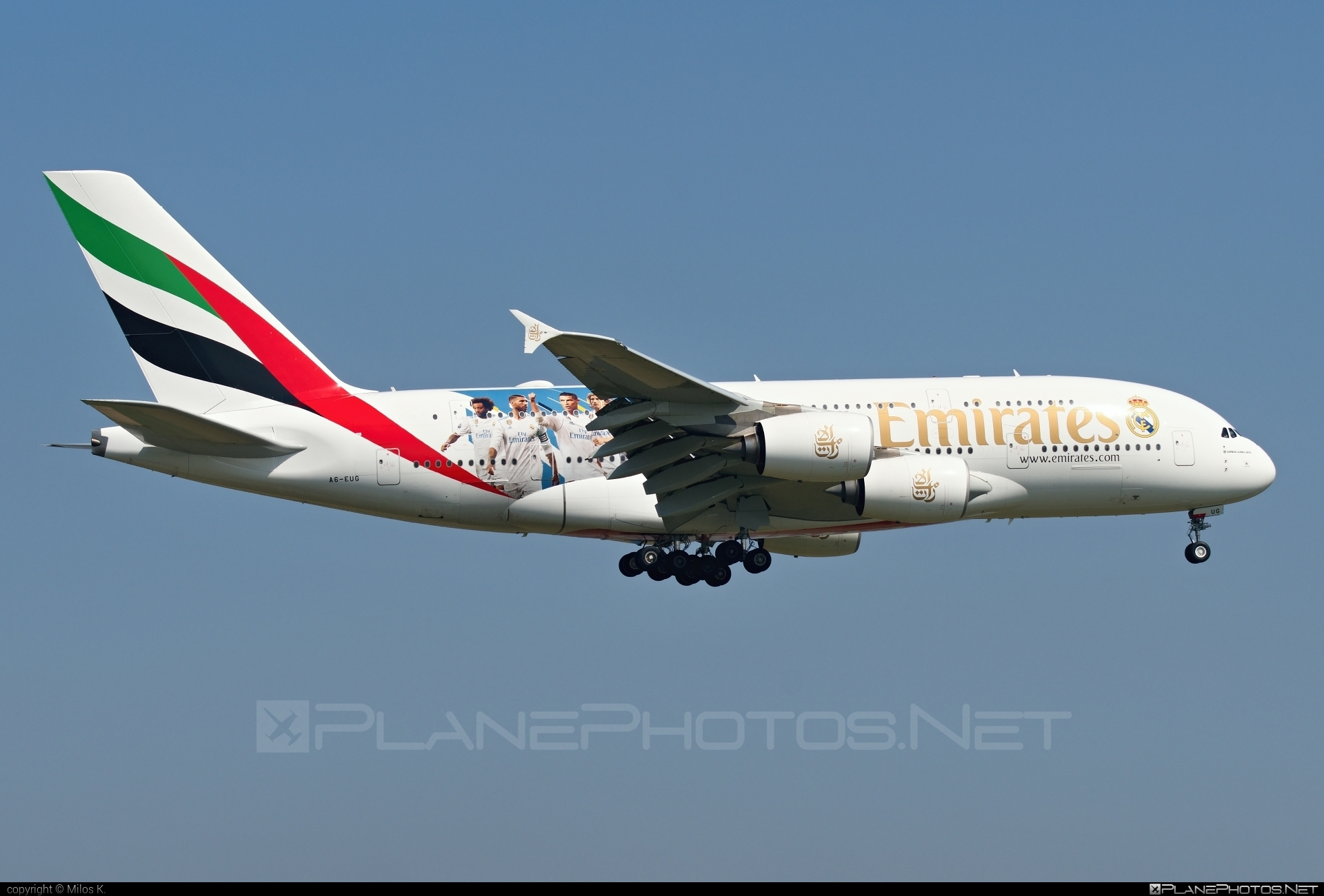 Airbus A380-861 - A6-EUG operated by Emirates #a380 #a380family #airbus #airbus380 #emirates