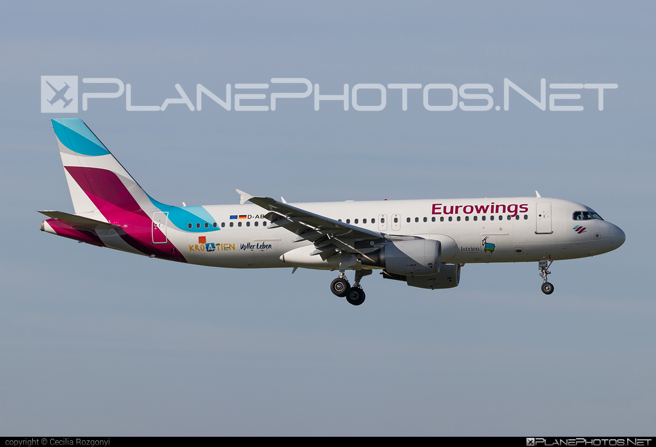 Airbus A320-214 - D-ABDP operated by Eurowings #a320 #a320family #airbus #airbus320 #eurowings