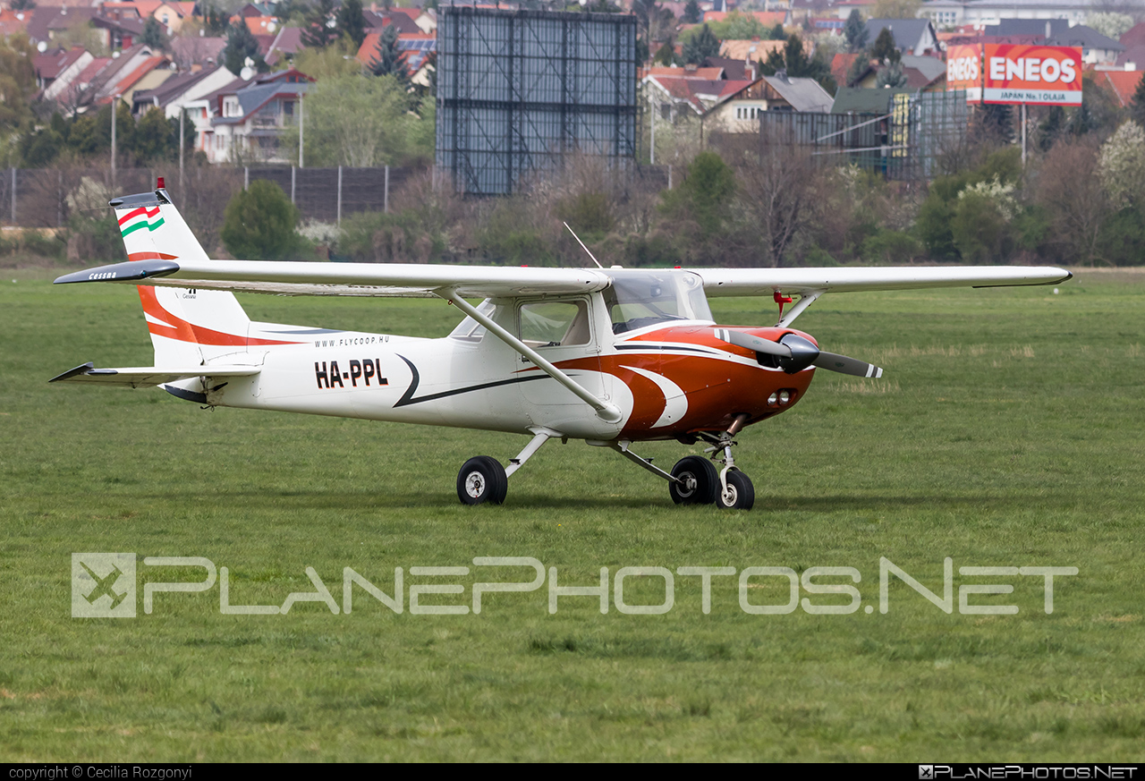 Reims F152 - HA-PPL operated by Fly-Coop #cessna152 #reims #reims152 #reimsf152