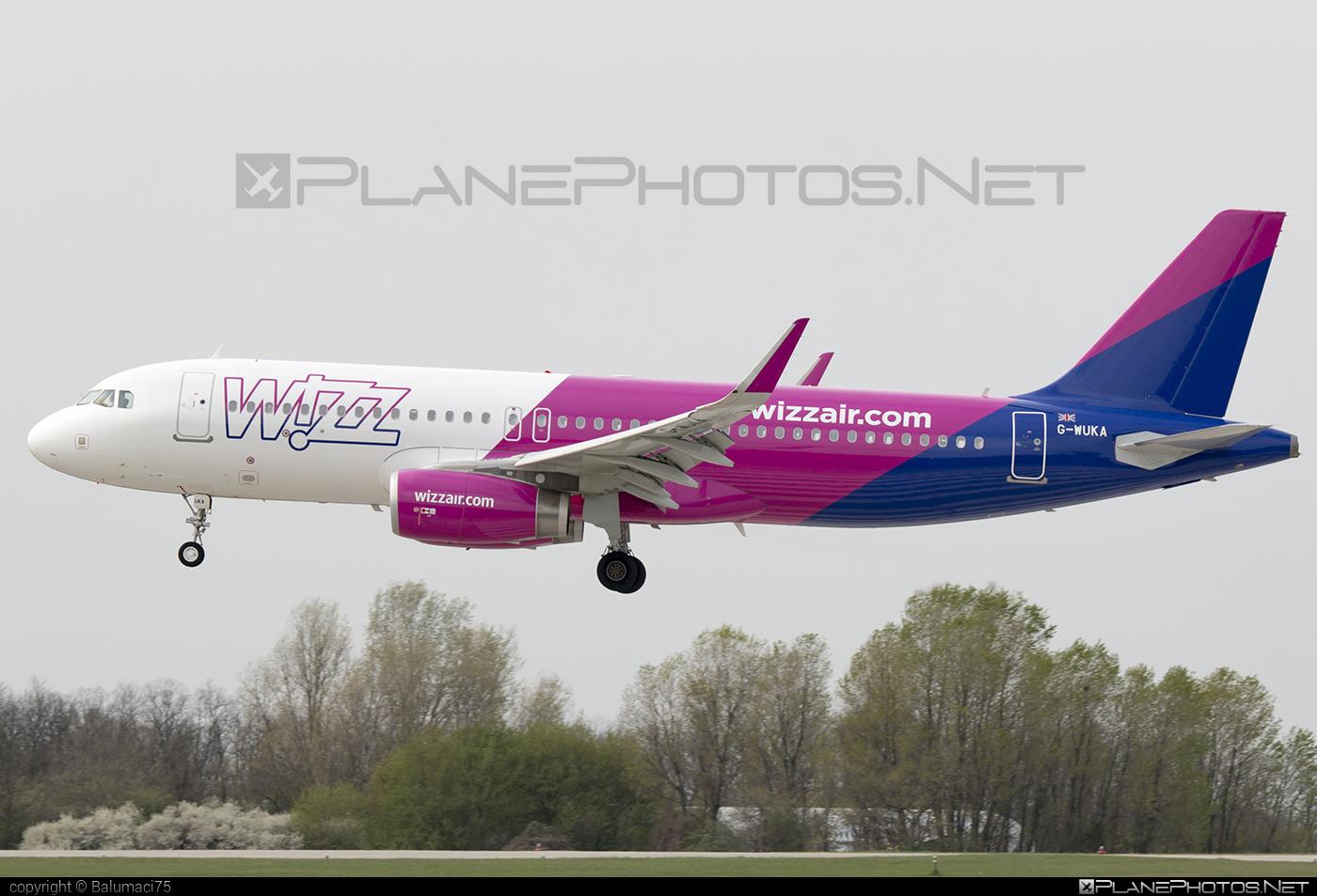 Wizz Air UK Airbus A320-232 - G-WUKA #a320 #a320family #airbus #airbus320 #wizz #wizzair #wizzairuk #wizzuk
