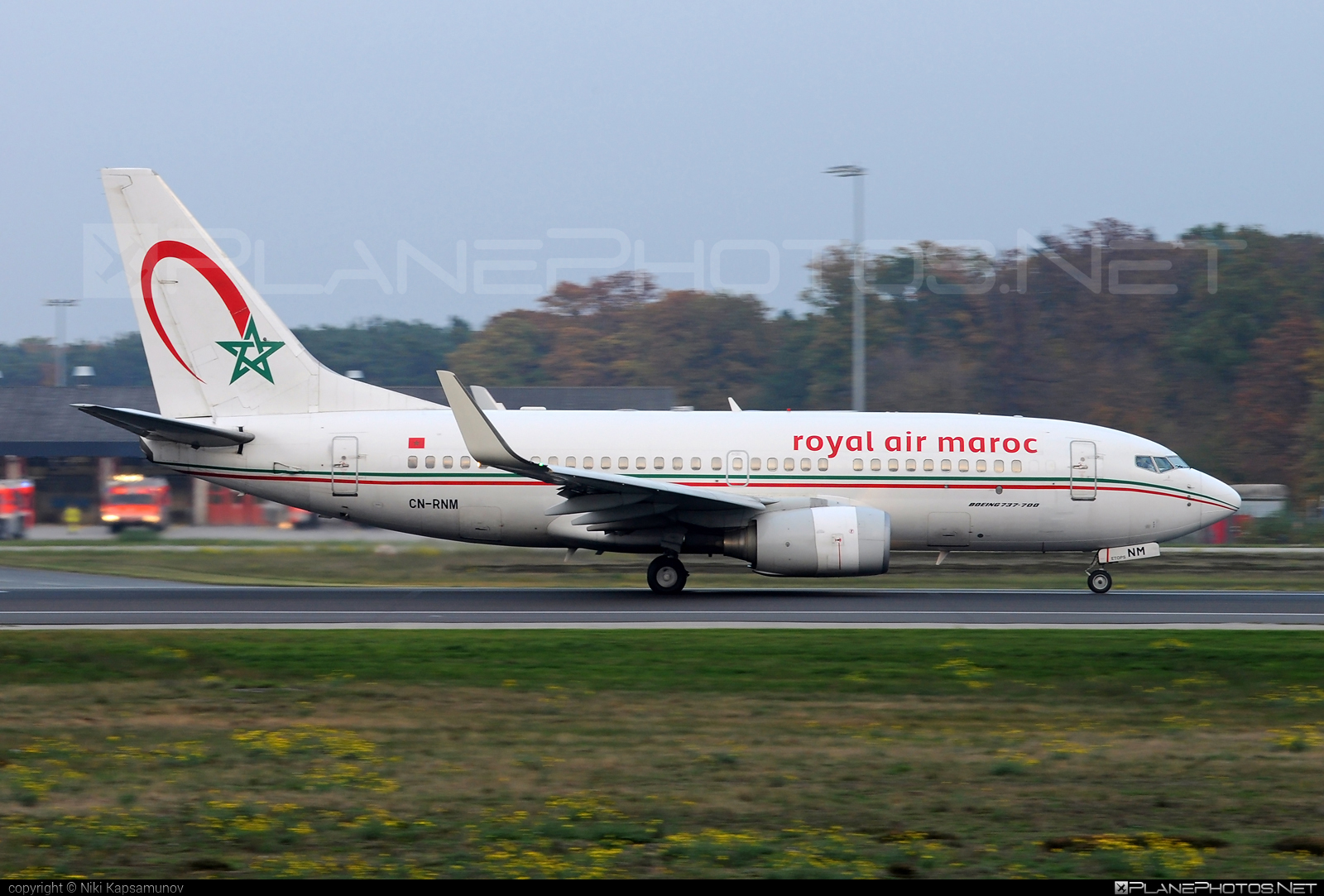Boeing 737-700 - CN-RNM operated by Royal Air Maroc (RAM) #b737 #b737nextgen #b737ng #boeing #boeing737 #royalairmaroc