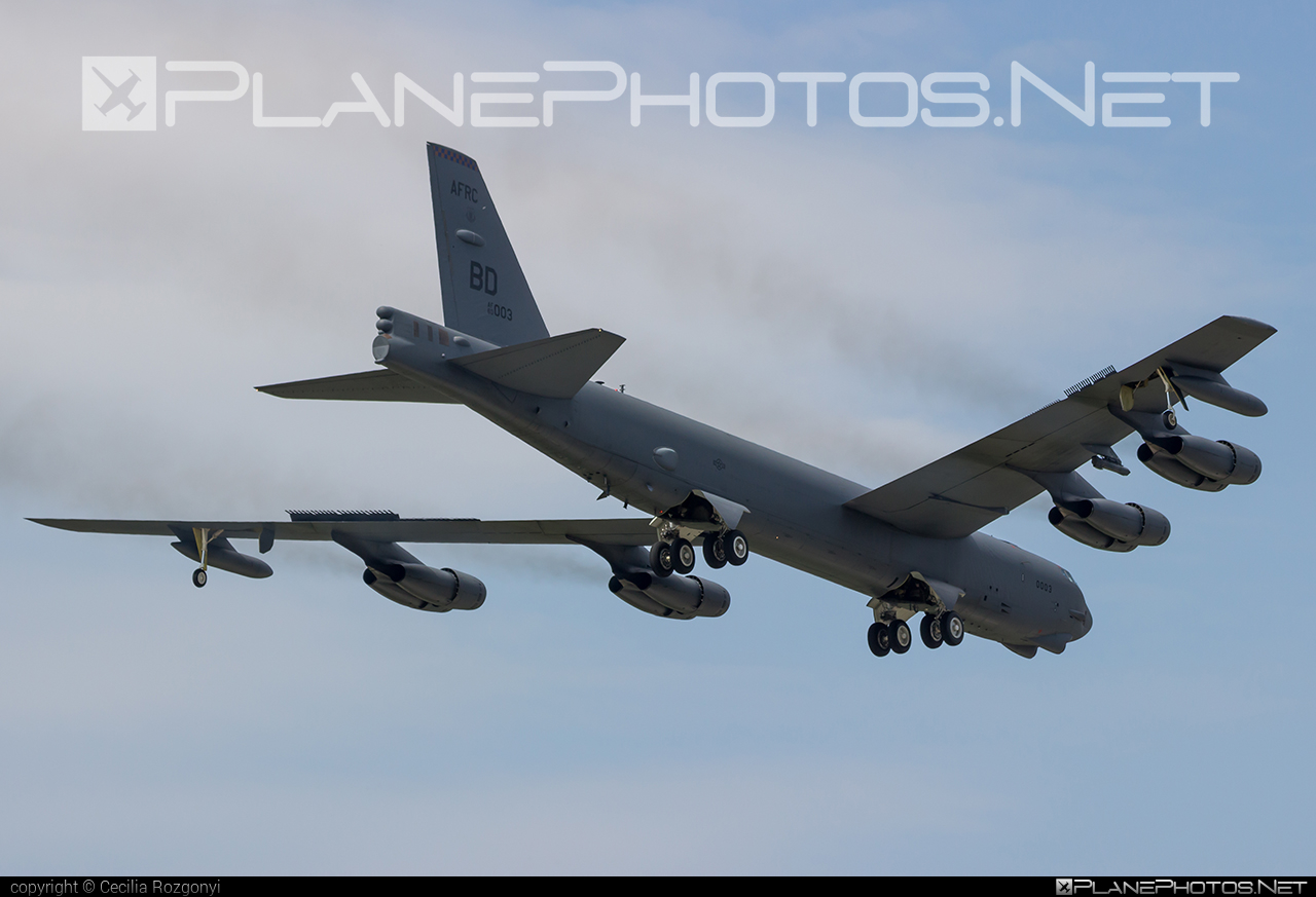 Boeing B-52H Stratofortress - 60-0003 operated by US Air Force (USAF) #b52 #boeing #stratofortress #usaf #usairforce