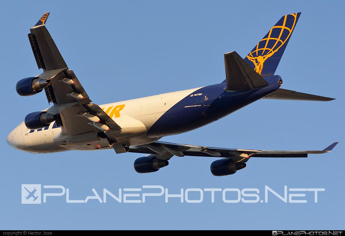 Boeing 747-400F - N477MC operated by Atlas Air #b747 #boeing #boeing747 #jumbo