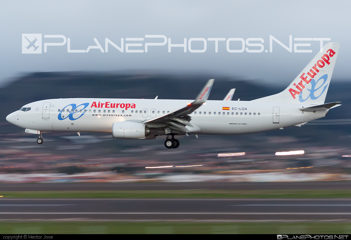 Boeing 737-800 - EC-LQX operated by Air Europa #b737 #b737nextgen #b737ng #boeing #boeing737