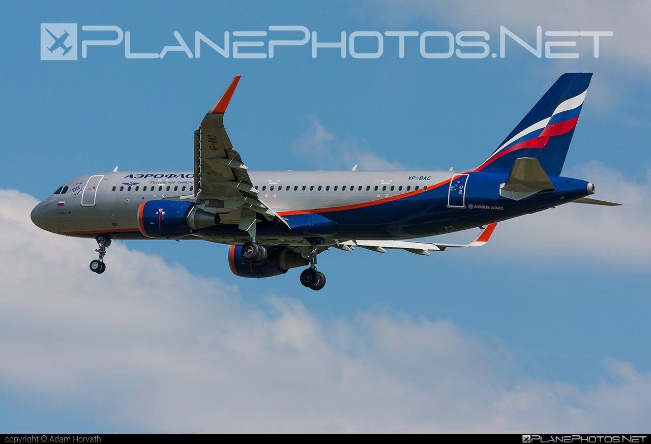 Airbus A320-214 - VP-BAC operated by Aeroflot #a320 #a320family #aeroflot #airbus #airbus320