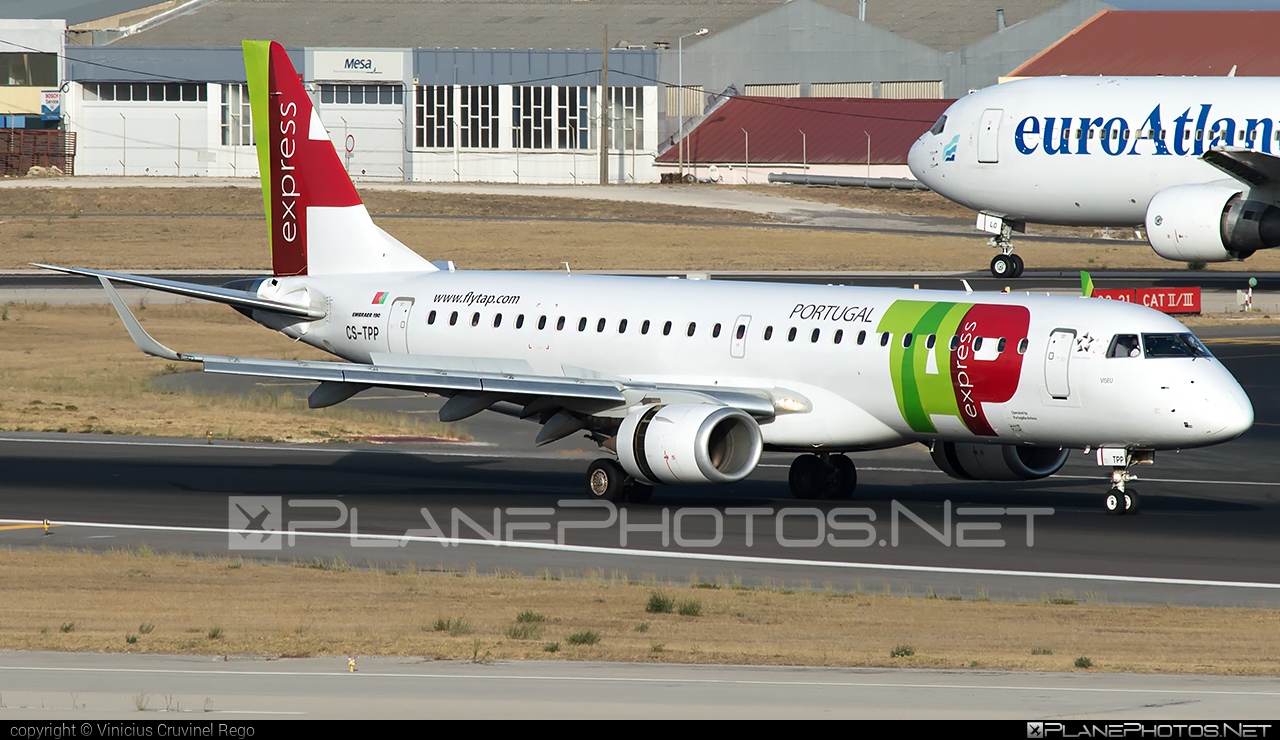 Embraer 190-100LR - CS-TPP operated by TAP Express #e190 #embraer #embraer190 #embraer190lr