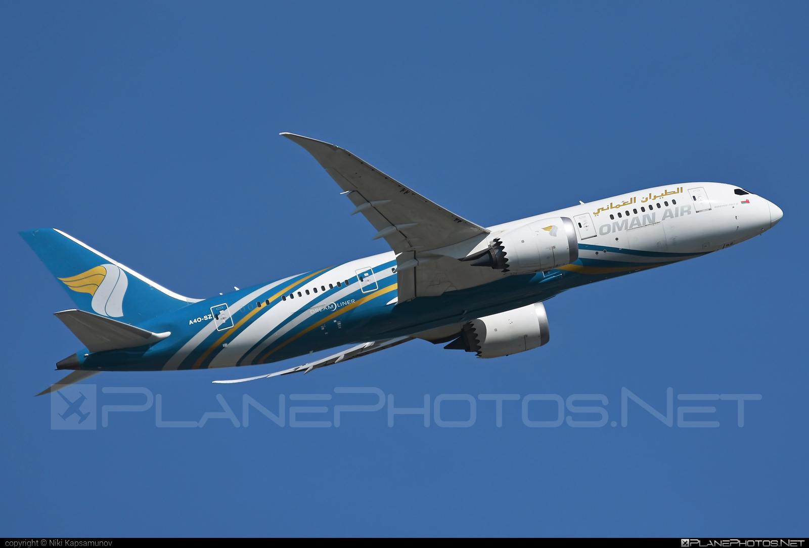 Oman Air Boeing 787-8 Dreamliner - A4O-SZ #b787 #boeing #boeing787 #dreamliner