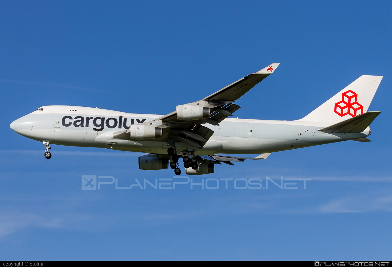 Cargolux Airlines International Boeing 747-400F - LX-ICL #b747 #boeing #boeing747 #cargolux #jumbo