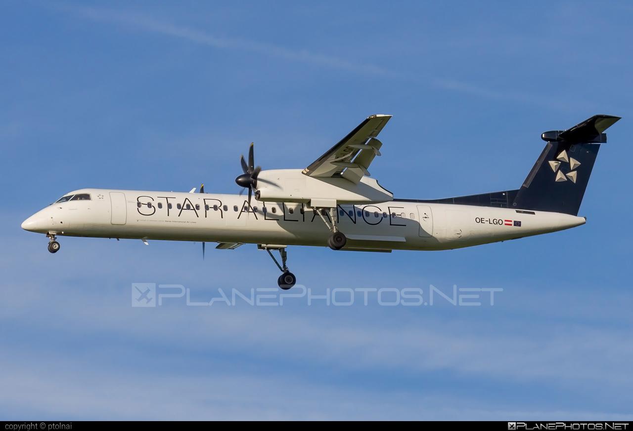 Australian Airlines Bombardier DHC-8-Q402 Dash 8 - OE-LGO #bombardier