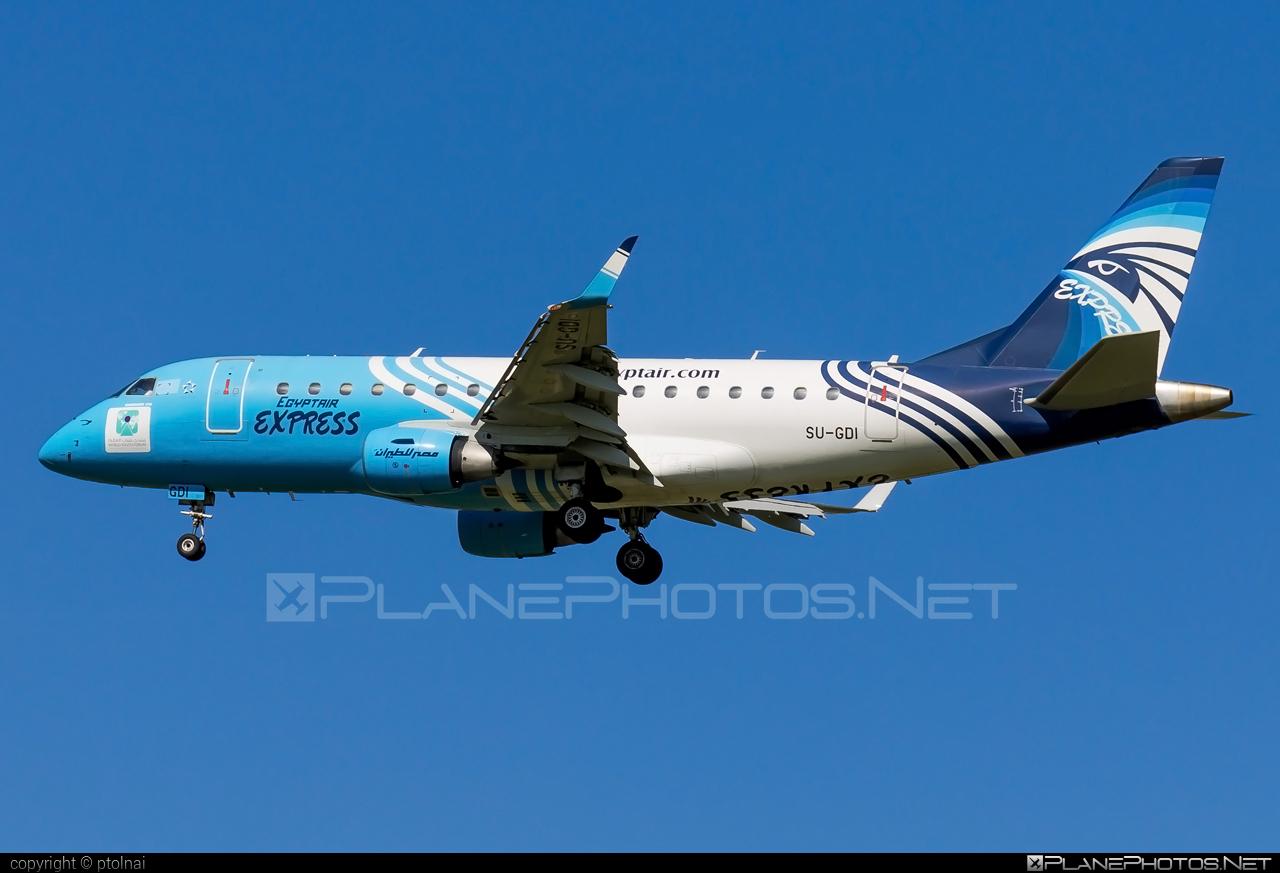 Embraer E170LR (ERJ-170-100LR) - SU-GDI operated by EgyptAir Express #e170 #embraer #embraer170 #embraer170lr #erj170 #erj170100 #erj170100lr #erj170lr