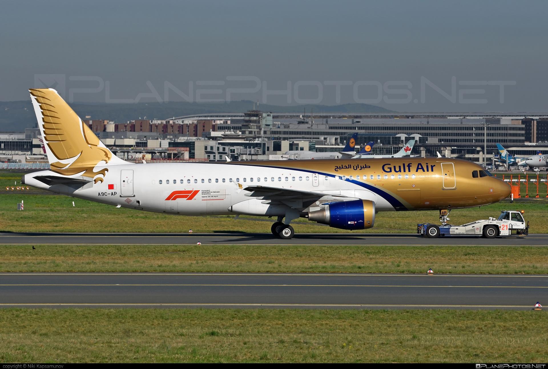 Gulf Air Airbus A320-214 - A9C-AP #a320 #a320family #airbus #gulfair