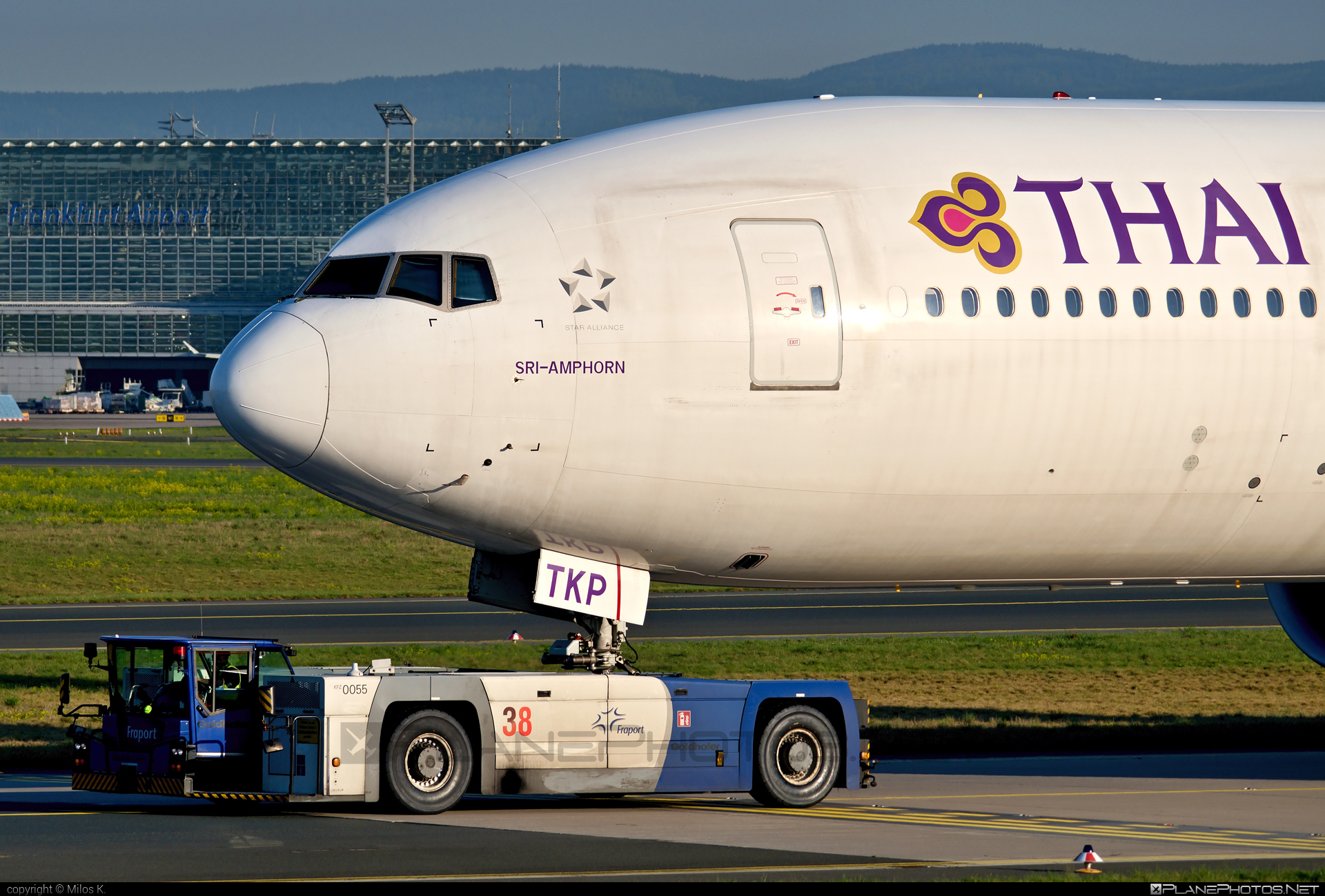 Boeing 777-300ER - HS-TKP operated by Thai Airways #b777 #b777er #boeing #boeing777 #thaiairways #tripleseven
