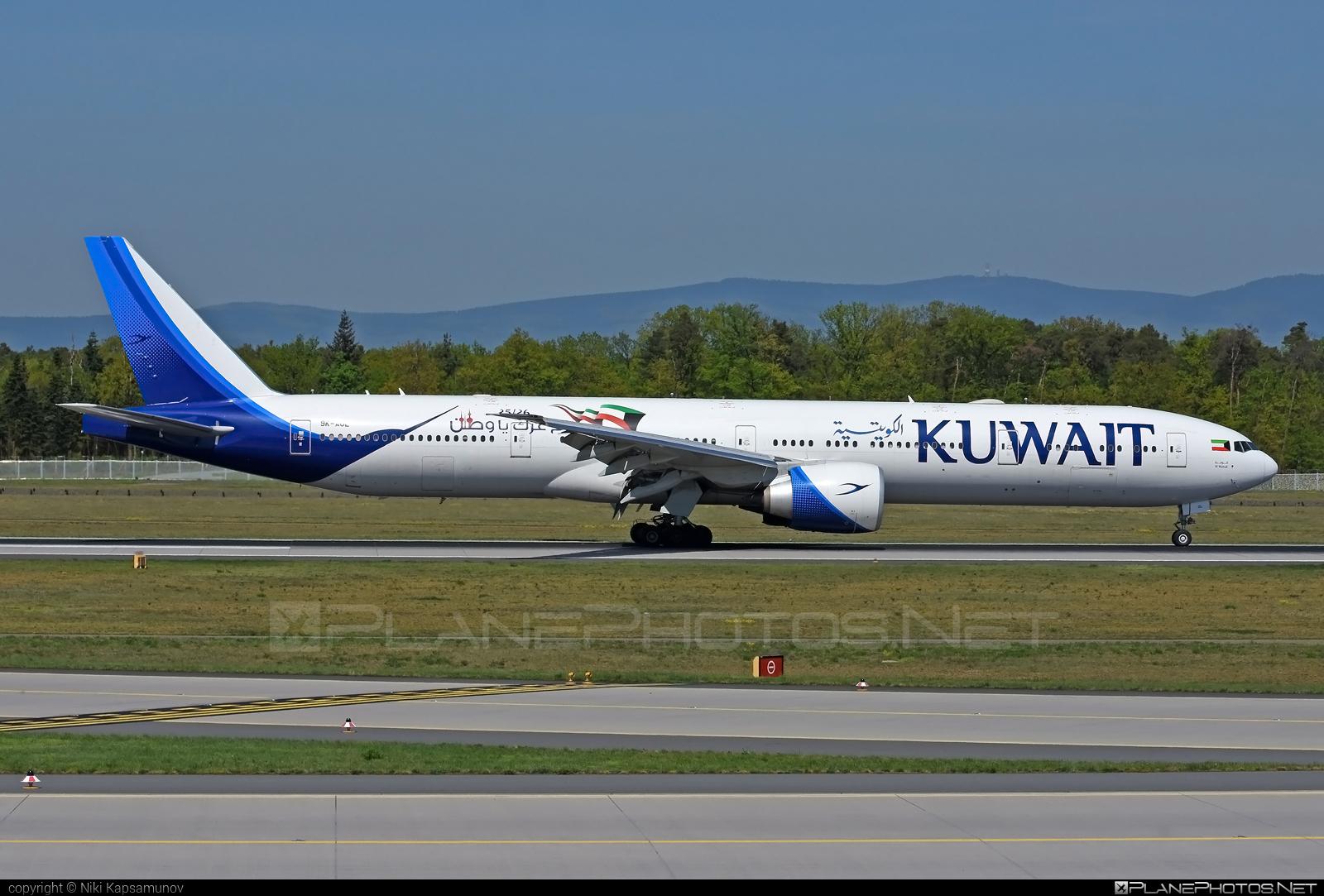 Boeing 777-300ER - 9K-AOL operated by Kuwait Airways #b777 #b777er #boeing #boeing777 #tripleseven