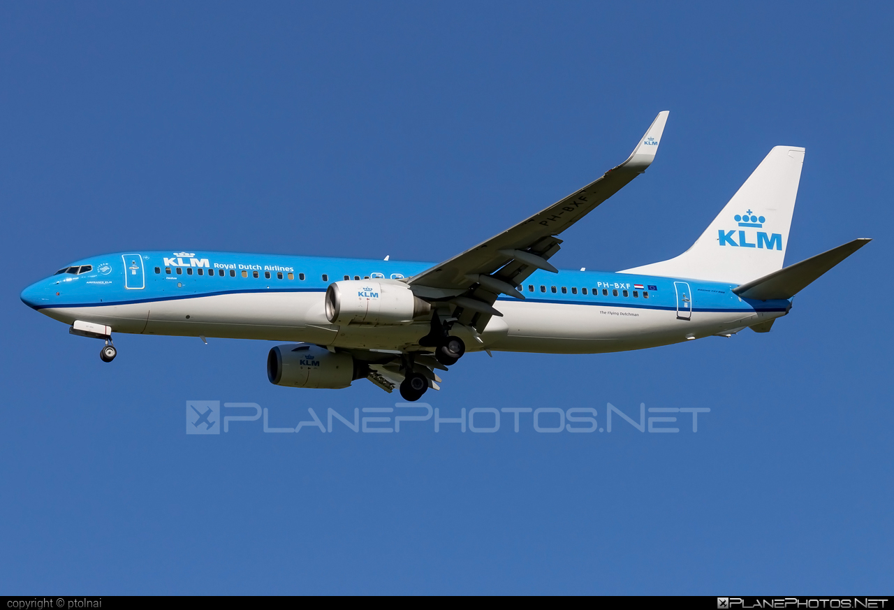 KLM Royal Dutch Airlines Boeing 737-800 - PH-BXF #b737 #b737nextgen #b737ng #boeing #klm #royaldutchairlines