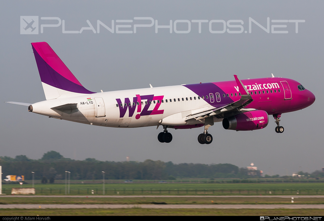 Wizz Air Airbus A320-232 - HA-LYD #a320 #a320family #airbus #airbus320 #wizz #wizzair