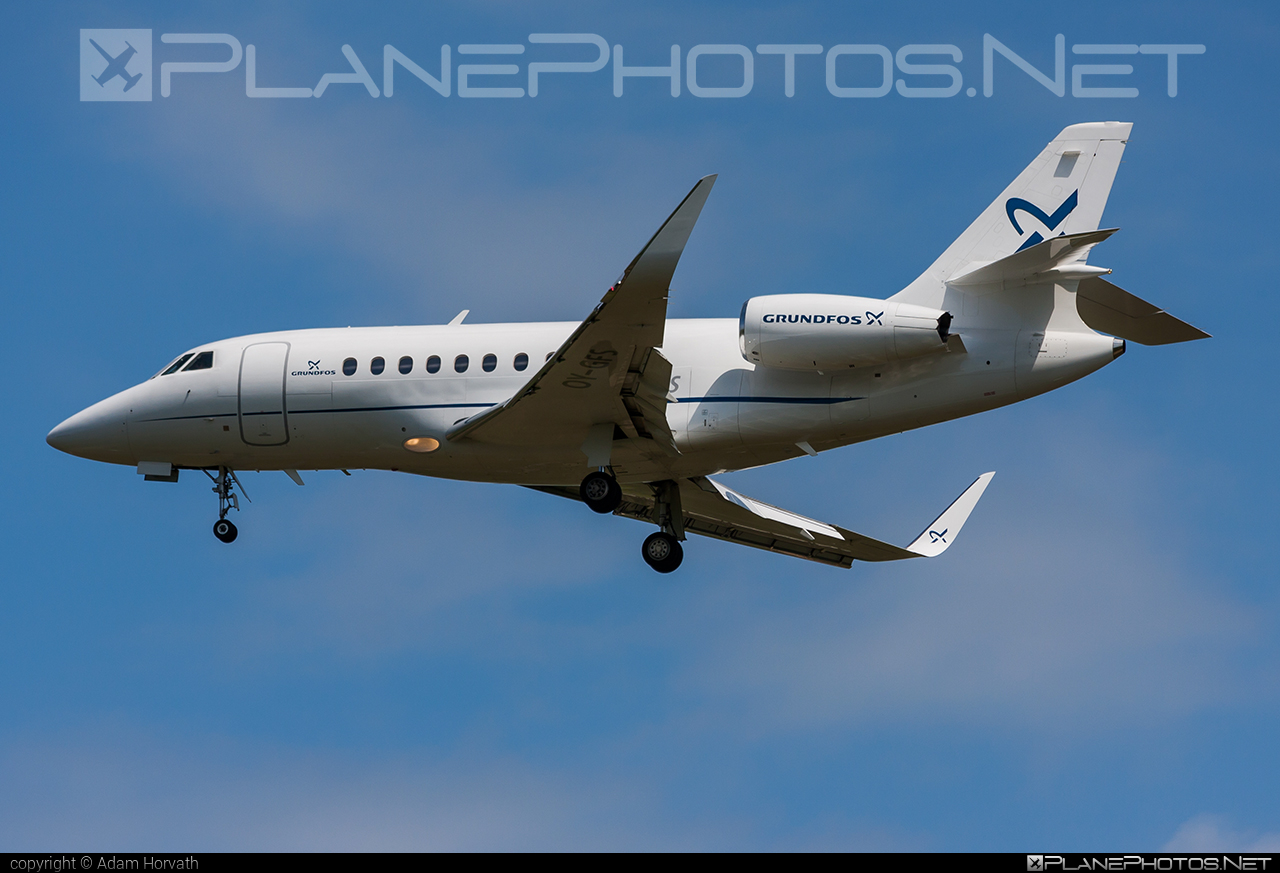 Dassault Falcon 2000LXS - OY-GFS operated by Air Alsie #dassault #dassaultfalcon #dassaultfalcon2000 #dassaultfalcon2000lxs #falcon2000 #falcon2000lxs