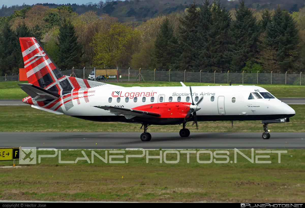 Saab 340B - G-LGNG operated by Loganair #saab
