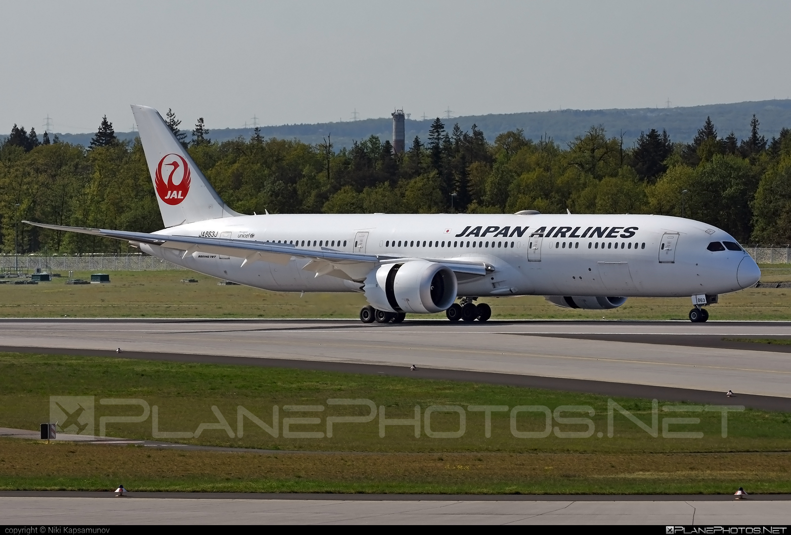 Boeing 787-9 Dreamliner - JA863J operated by Japan Airlines (JAL) #b787 #boeing #boeing787 #dreamliner