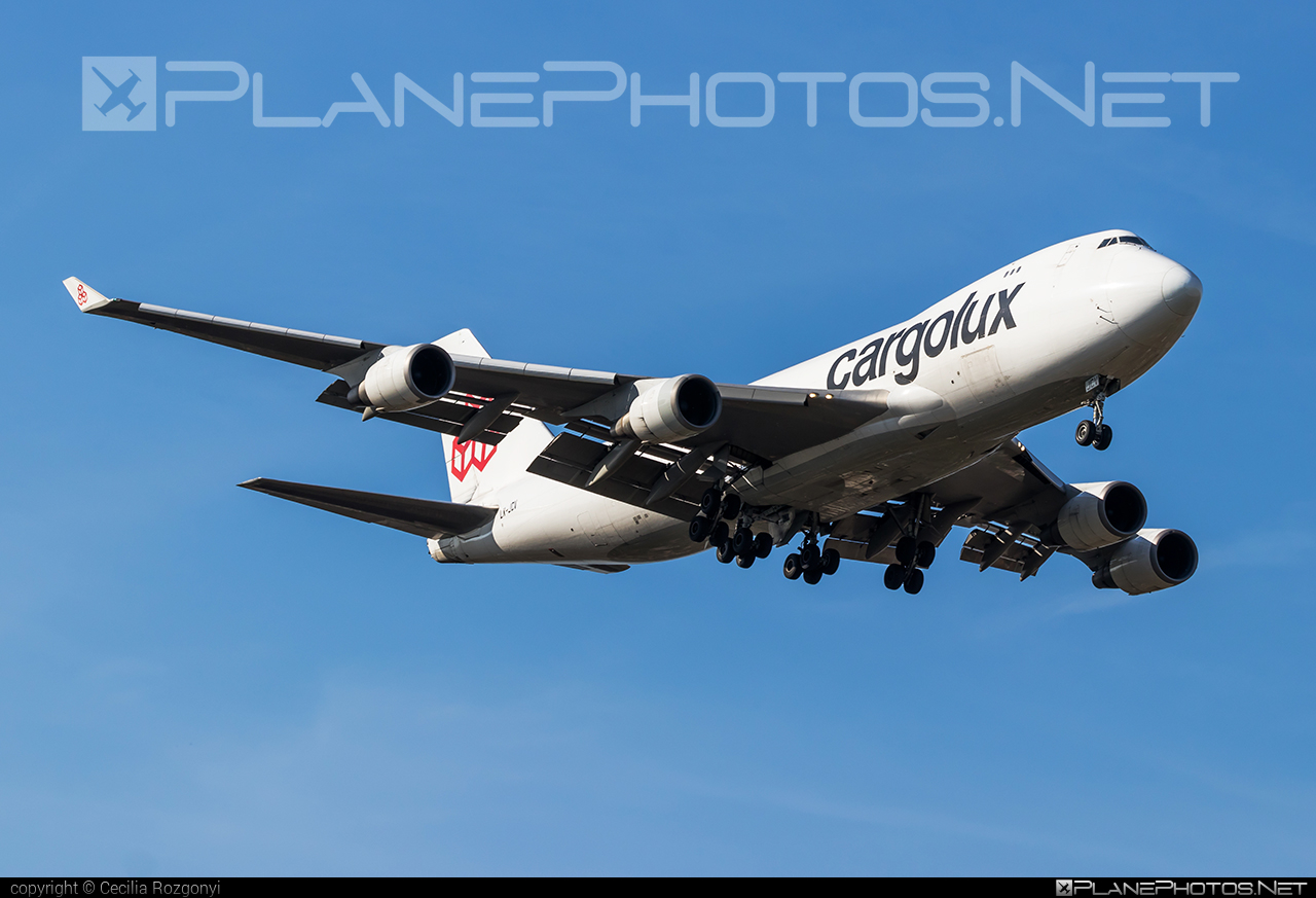 Boeing 747-400F - LX-JCV operated by Cargolux Airlines International #b747 #boeing #boeing747 #cargolux #jumbo