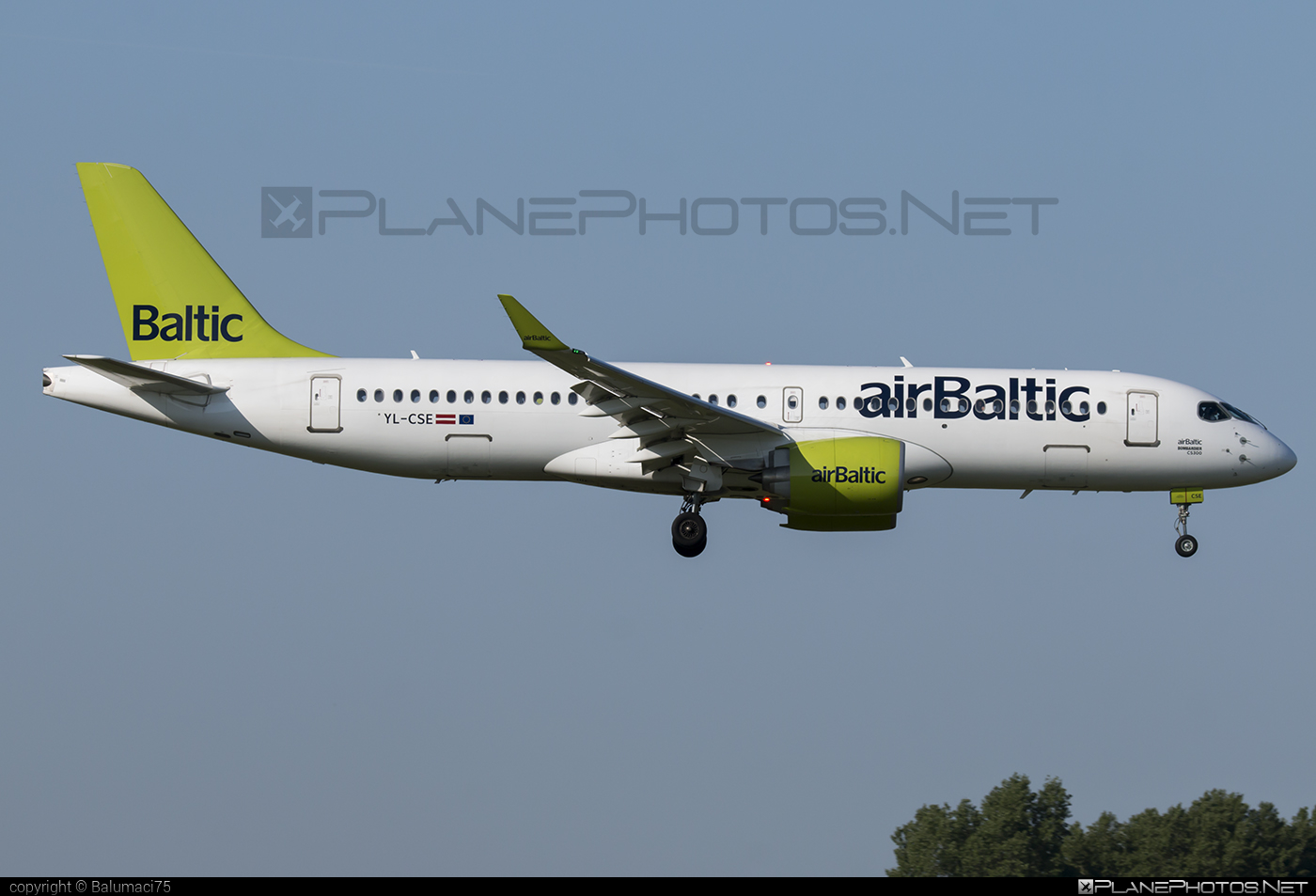 Bombardier BD-500-1A11 C Series CS300 - YL-CSE operated by Air Baltic #airbaltic #bombardier #cs300 #cseries #cseries300