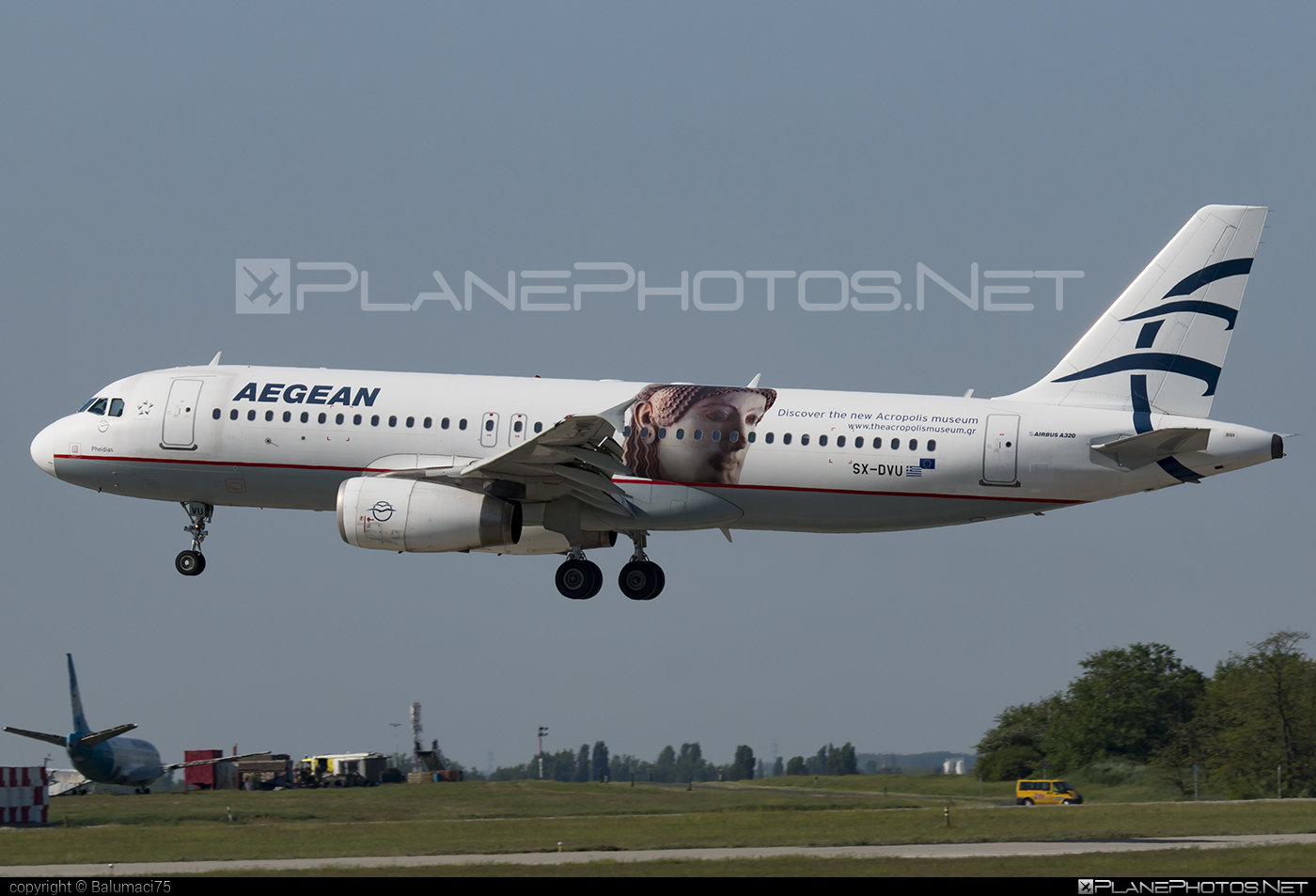 Airbus A320-232 - SX-DVU operated by Aegean Airlines #a320 #a320family #airbus #airbus320