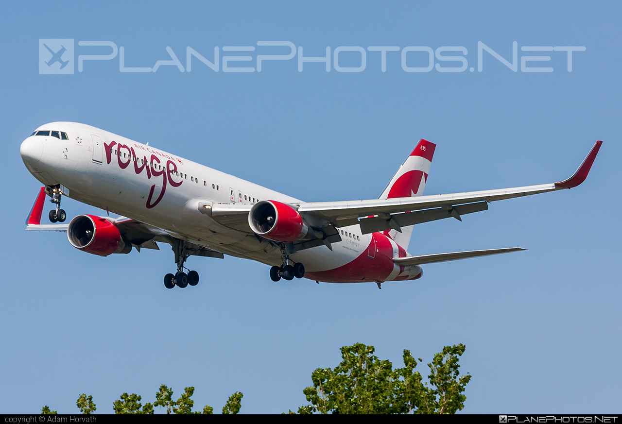 Boeing 767-300ER - C-FMWY operated by Air Canada Rouge #aircanadarouge #b767 #b767er #boeing #boeing767