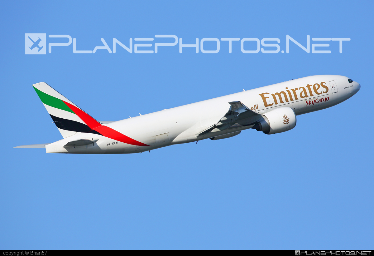 Boeing 777F - A6-EFN operated by Emirates SkyCargo #b777 #b777f #b777freighter #boeing #boeing777 #tripleseven