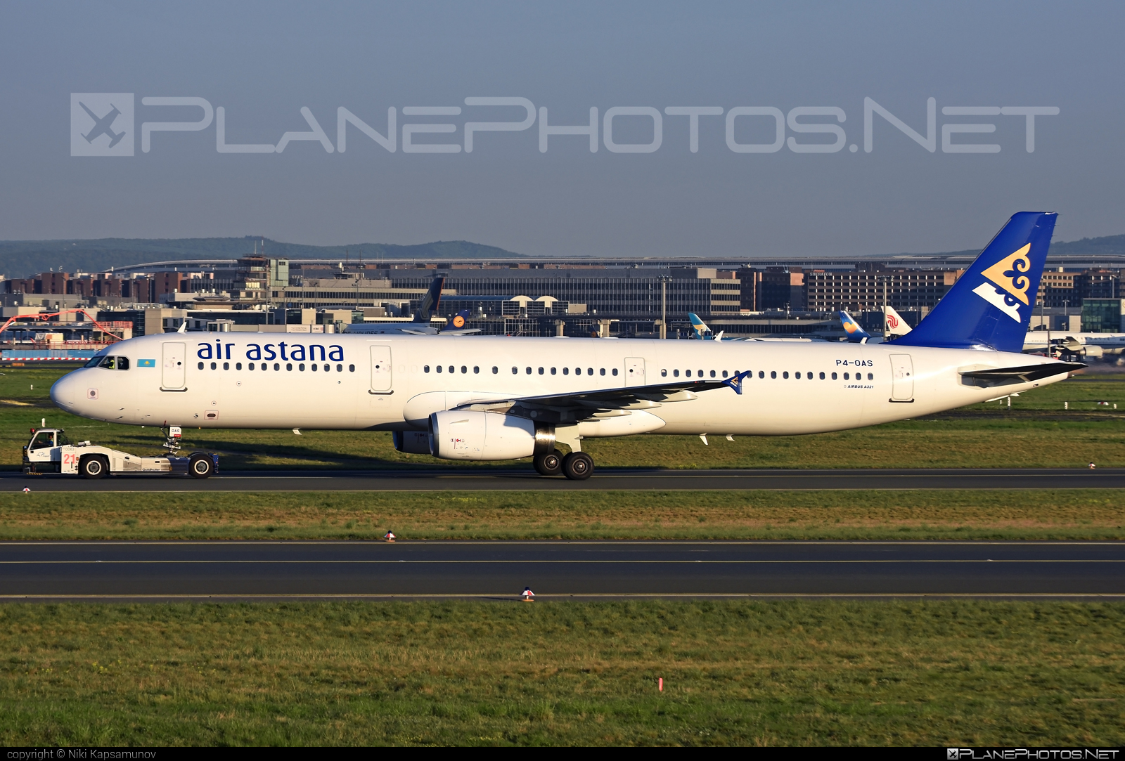Airbus A321-231 - P4-OAS operated by Air Astana #a320family #a321 #airbus #airbus321