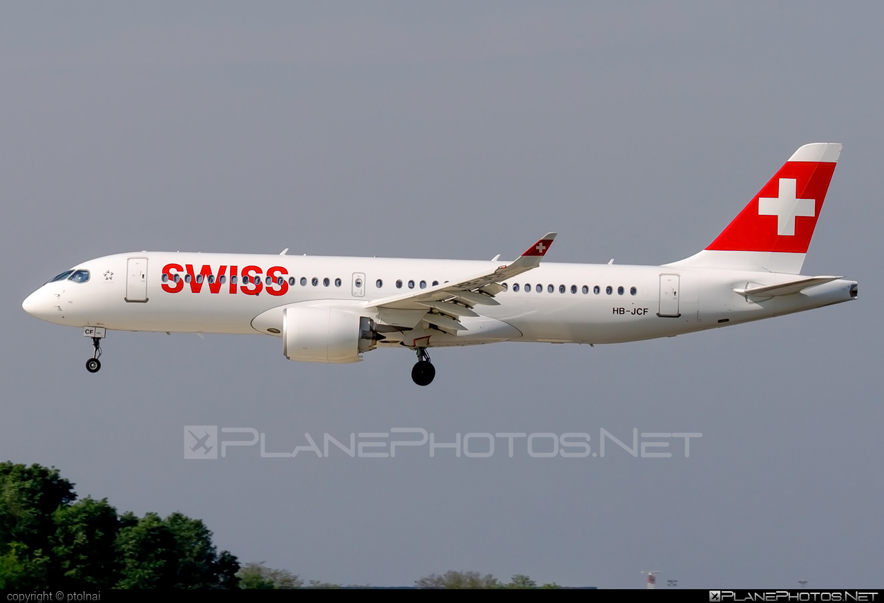 Bombardier BD-500-1A11 C Series CS300 - HB-JCF operated by Swiss International Air Lines #bombardier #cs300 #cseries #cseries300 #swiss #swissairlines