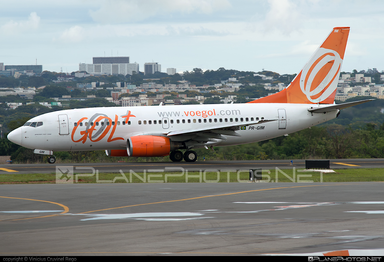 Boeing 737-700 - PR-GIM operated by GOL Linhas Aéreas Inteligentes #b737 #b737nextgen #b737ng #boeing #boeing737