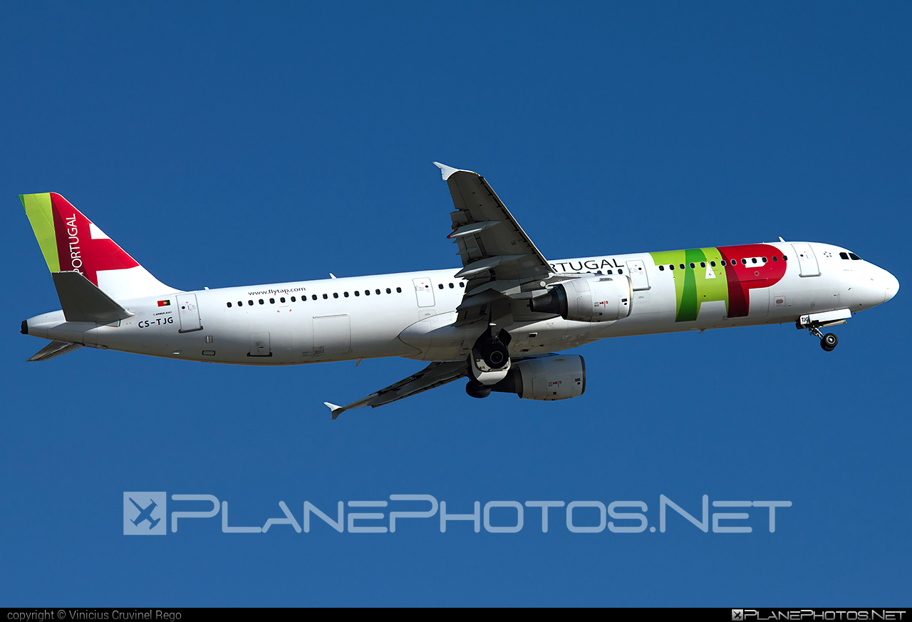Airbus A321-211 - CS-TJG operated by TAP Portugal #a320family #a321 #airbus #airbus321