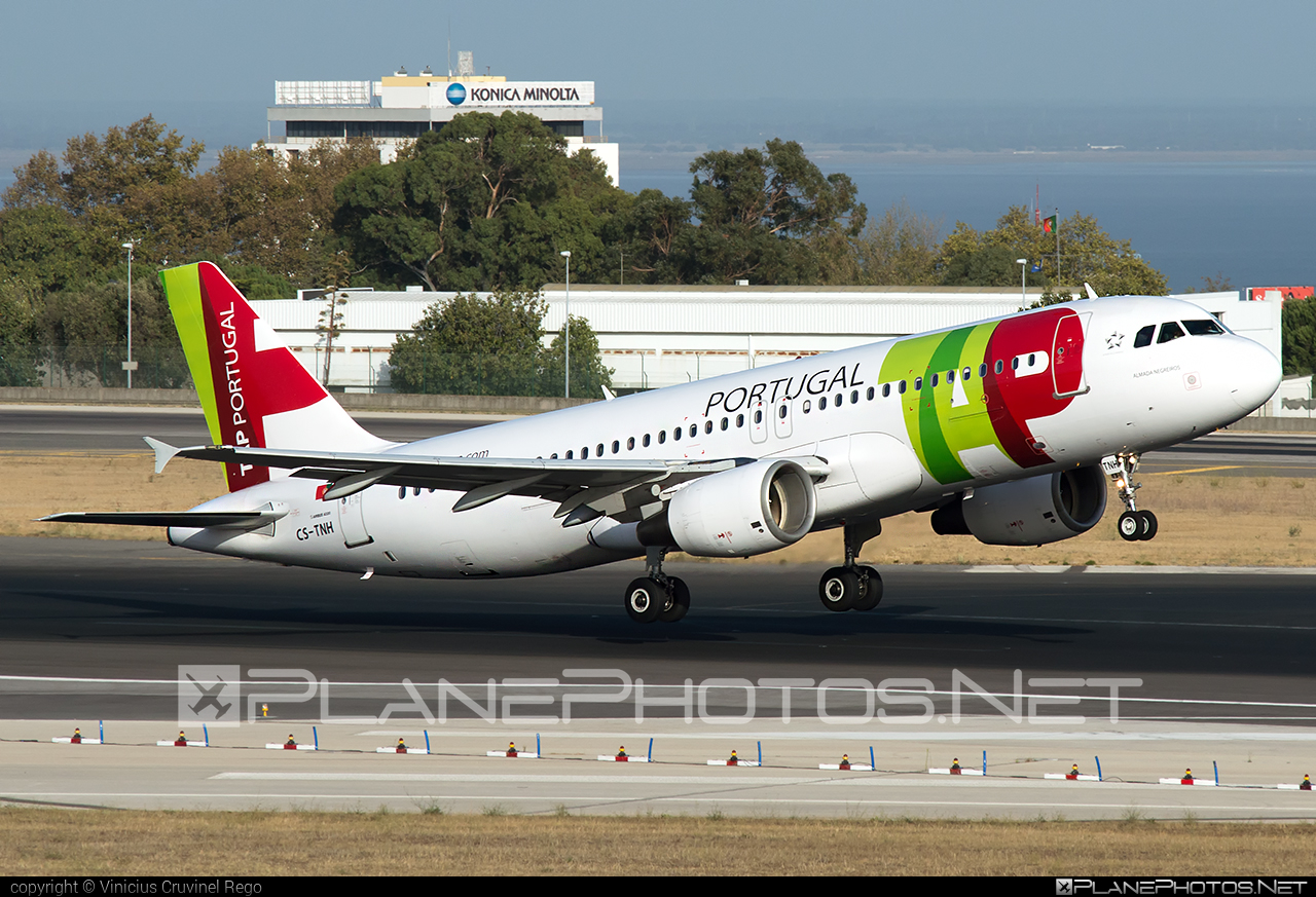 Airbus A320-214 - CS-TNH operated by TAP Portugal #a320 #a320family #airbus #airbus320