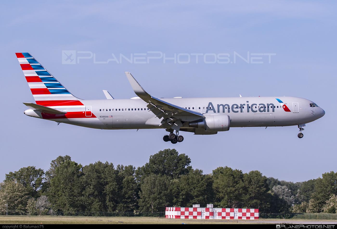 American Airlines Boeing 767-300ER - N388AA #americanairlines #b767 #b767er #boeing #boeing767