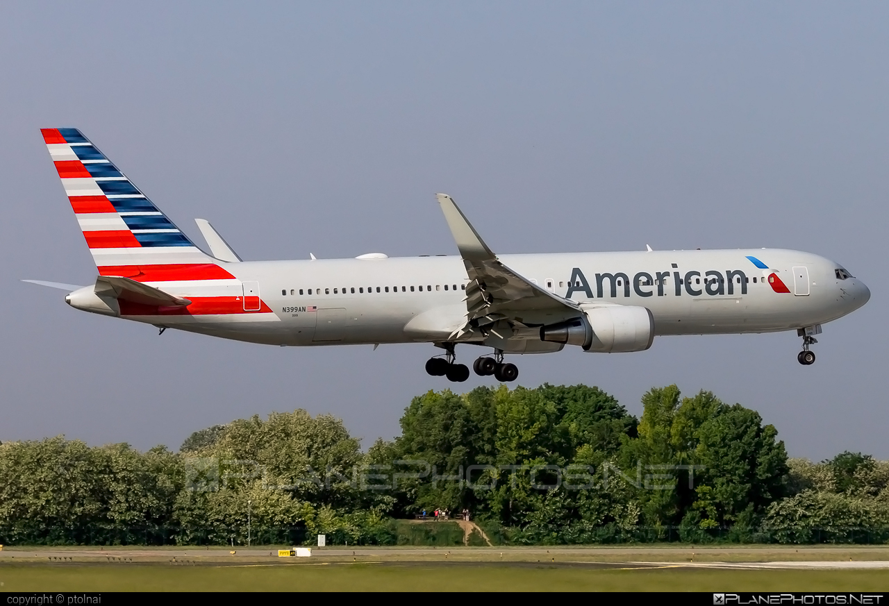 Boeing 767-300ER - N399AN operated by American Airlines #americanairlines #b767 #b767er #boeing #boeing767
