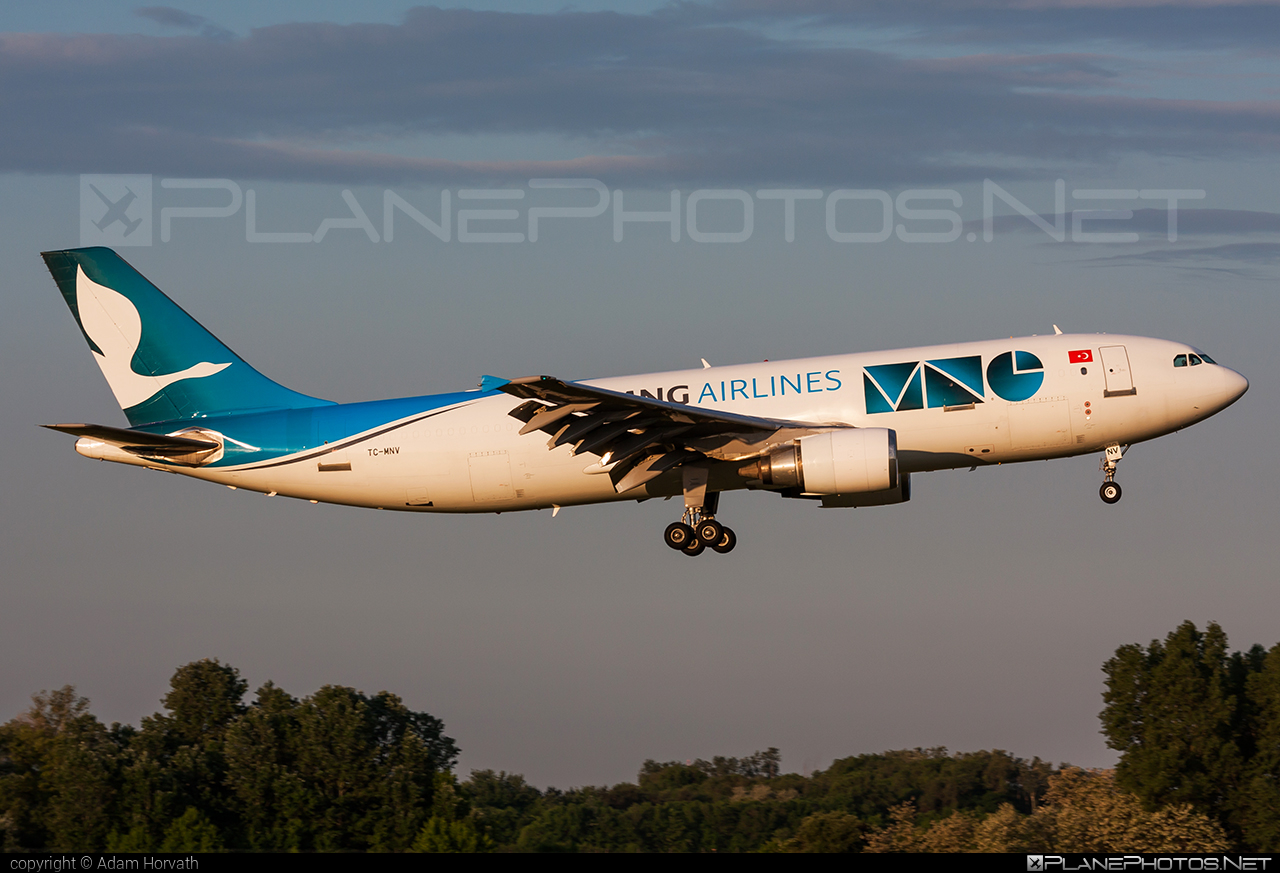 Airbus A300C4-605R - TC-MNV operated by MNG Airlines #a300 #airbus